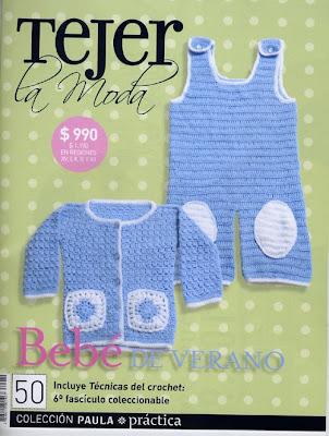 Revista: Tejer la moda. Bebé de verano - http://descarga-gratis-libros.com/