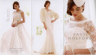 Sassi Holford wedding Gowns, I'm loving the Look