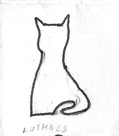 Cats Raw Drawing