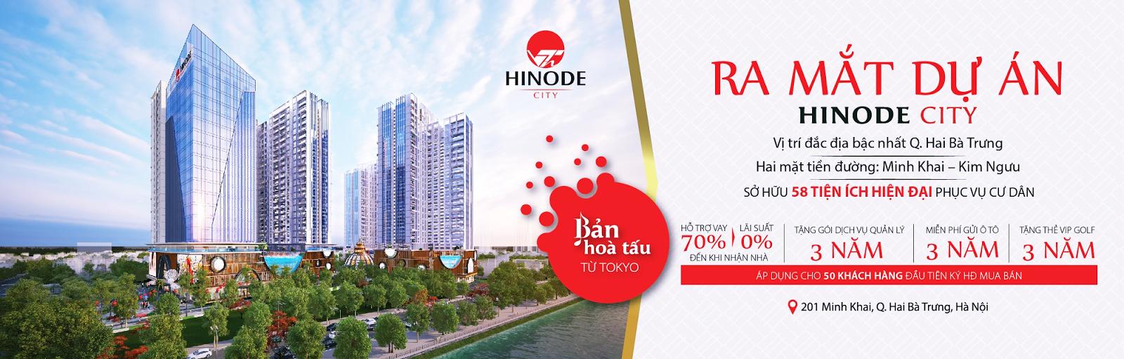 Mở bán chung cư Hinode City