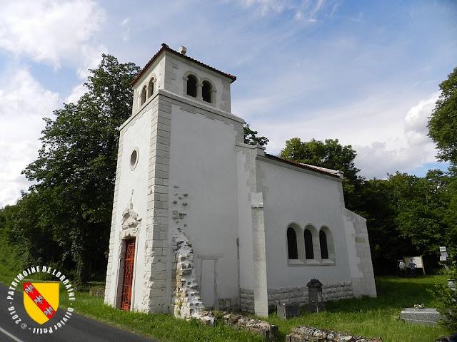 THIAUCOURT-REGNIEVILLE (54) - Chapelle commémorative de Regniéville (1930)