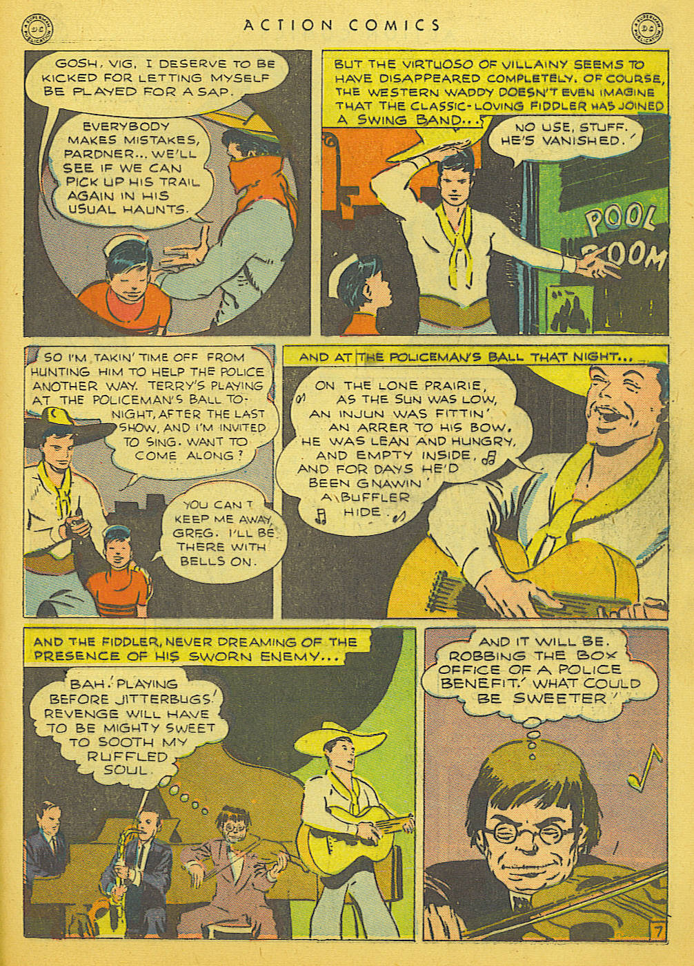 Read online Action Comics (1938) comic -  Issue #91 - 37