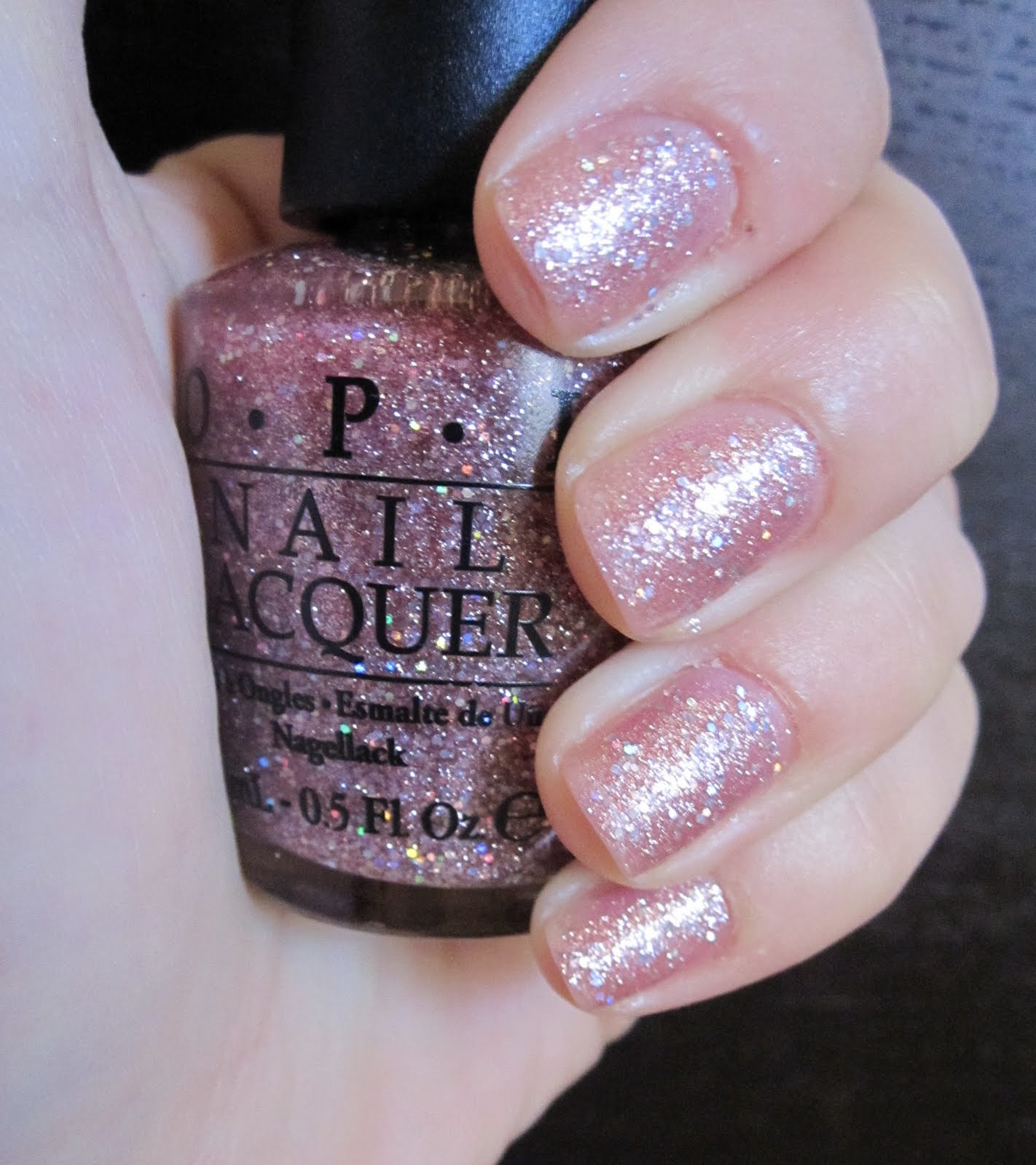 A Touch Of Gloss Opi Teenage Dream Nail Polish