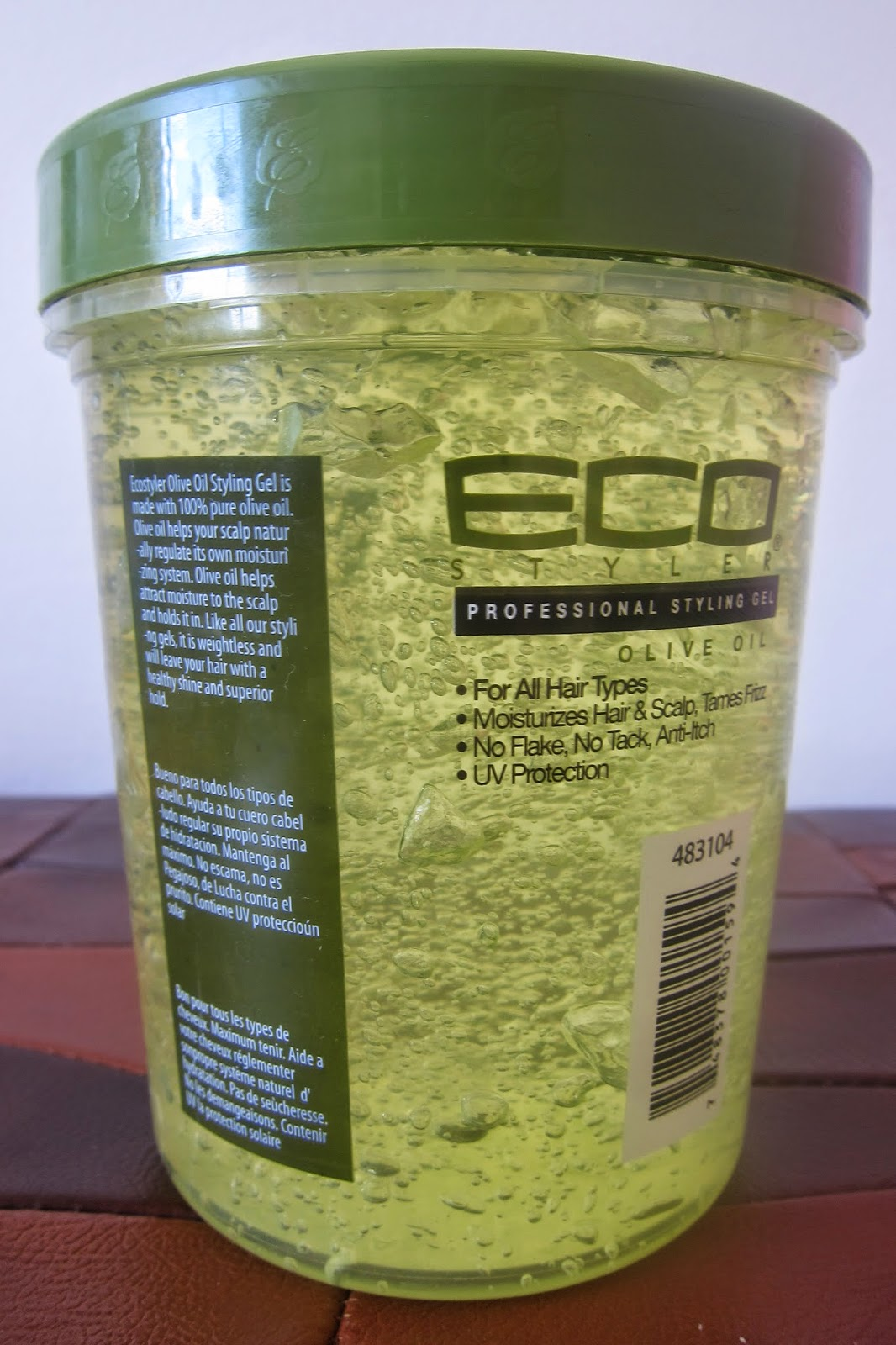 Afro Pean Queen Eco Styler Gel With Olive Oil