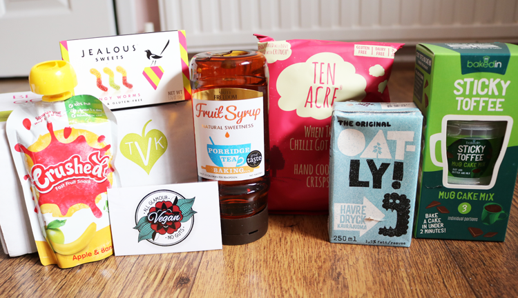 The Vegan Kind Lifestyle Box - October 2016 review
