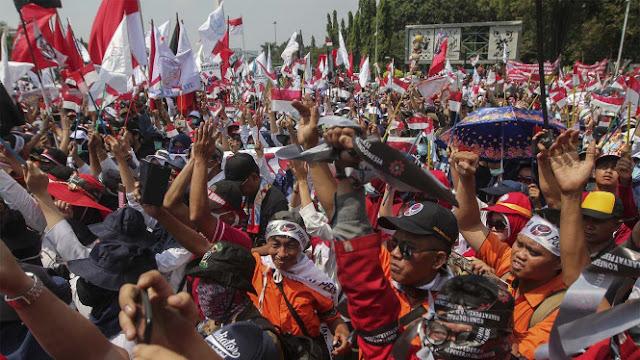 UMP DKI Rp3,9 Juta, Buruh Tak Boleh Demo Lagi
