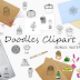 Doodle Cactus Clipart Collection