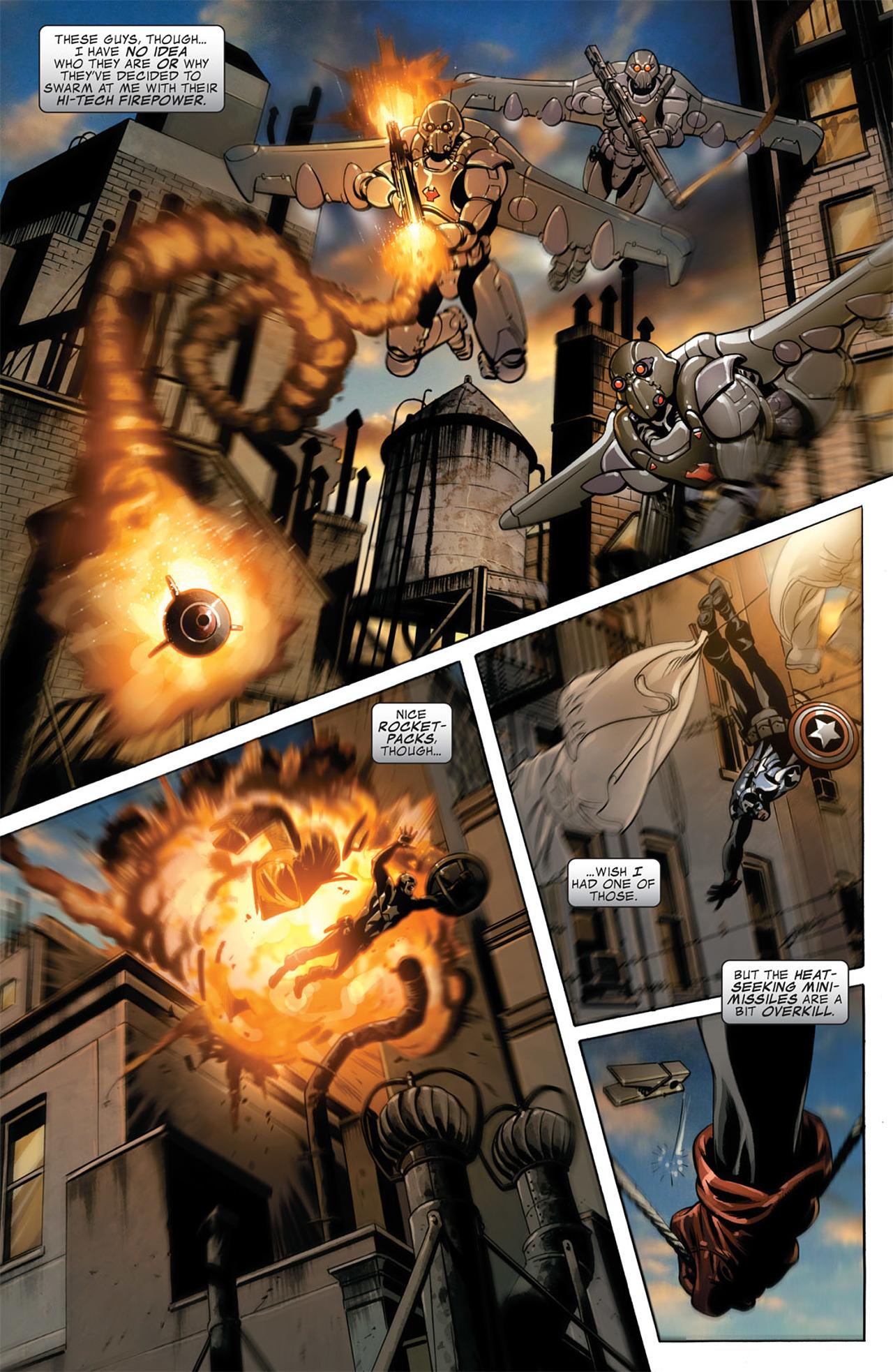 Read online Captain America (2005) comic -  Issue #50 - 4