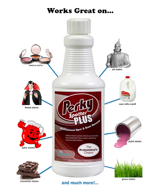 Mama Nibbles Perky Spotter Plus Stain Remover Worked On