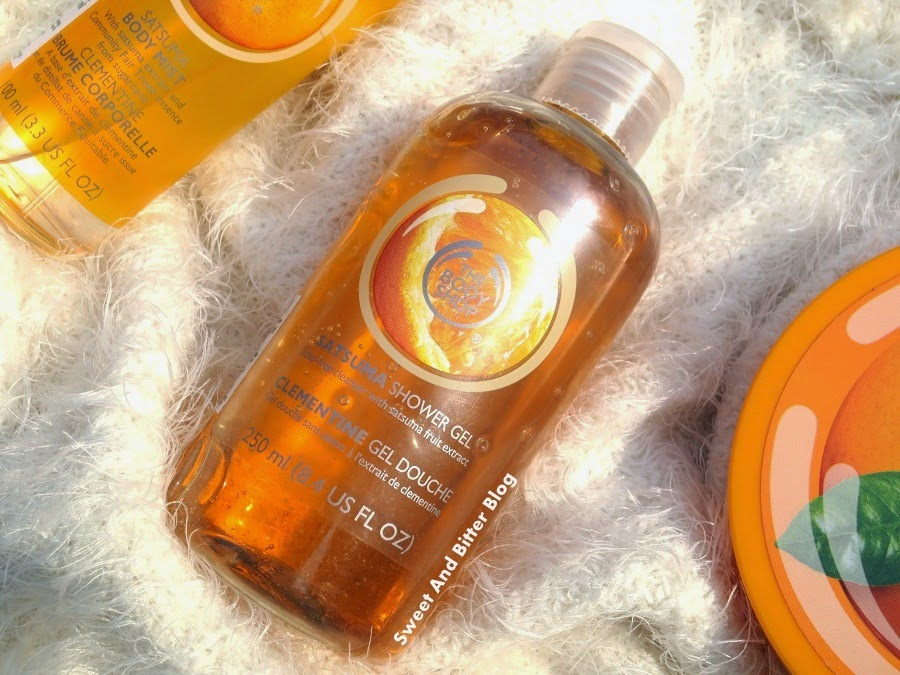 The Body Shop Satsuma Shower Gel Review