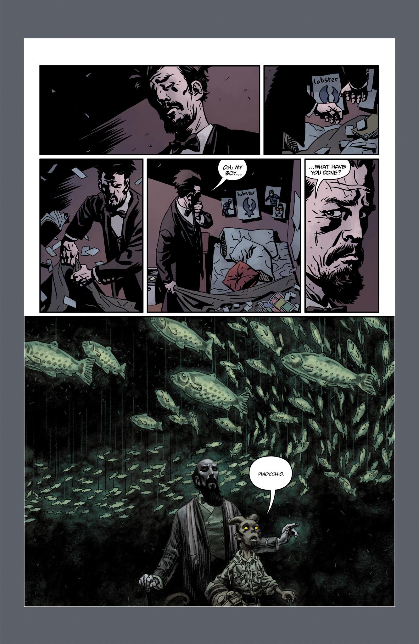 Read online Abe Sapien comic -  Issue #6 - 29