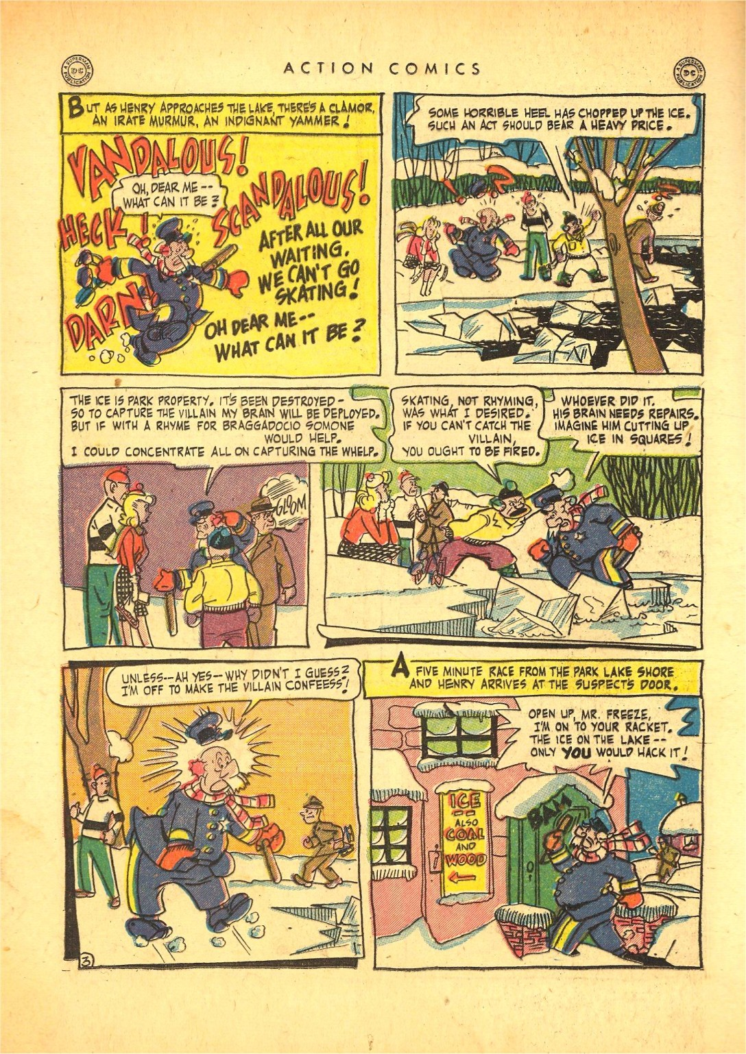 Read online Action Comics (1938) comic -  Issue #87 - 17
