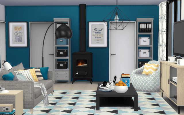 scandinavian house download sims 4