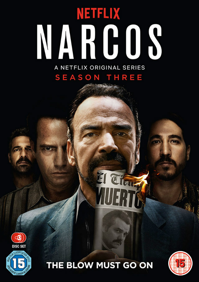 NARCOS Season Three dvd