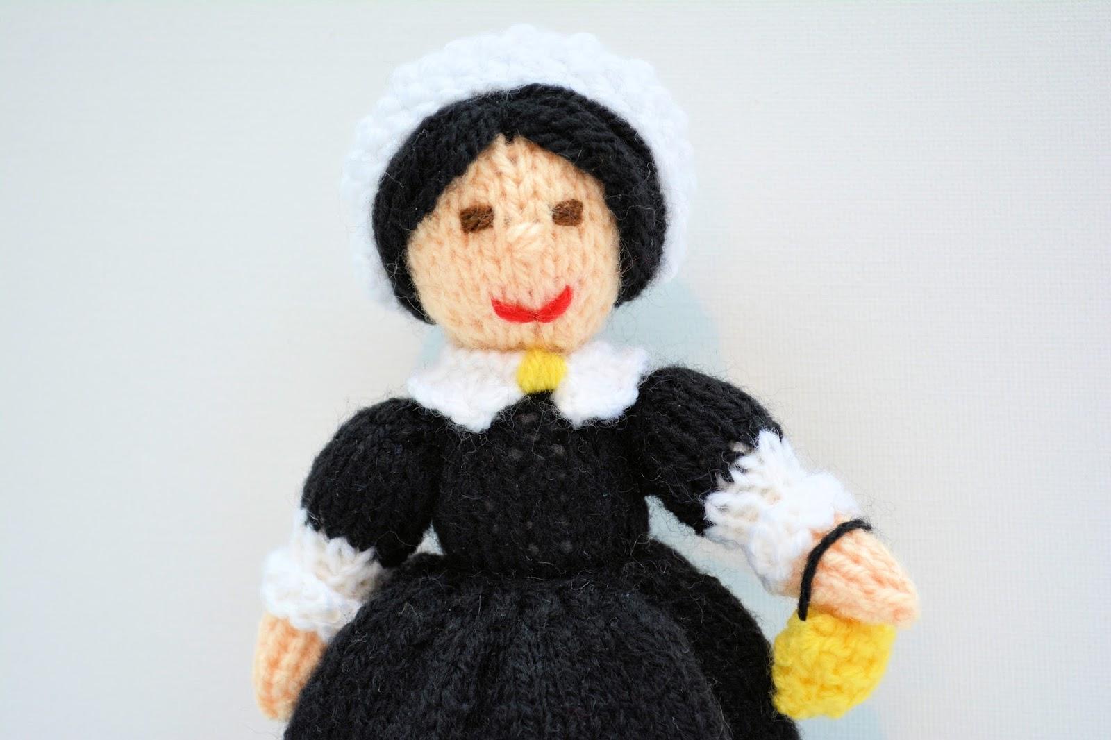 Knitting Pattern For Nurse Doll : Edith Grace Designs: WW1 Red Cross Nurse Doll & Florence Nightingale Doll...