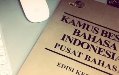 Kosakata baru bahasa Indonesia