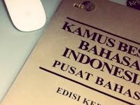 50 Kosakata Baru Bahasa Indonesia
