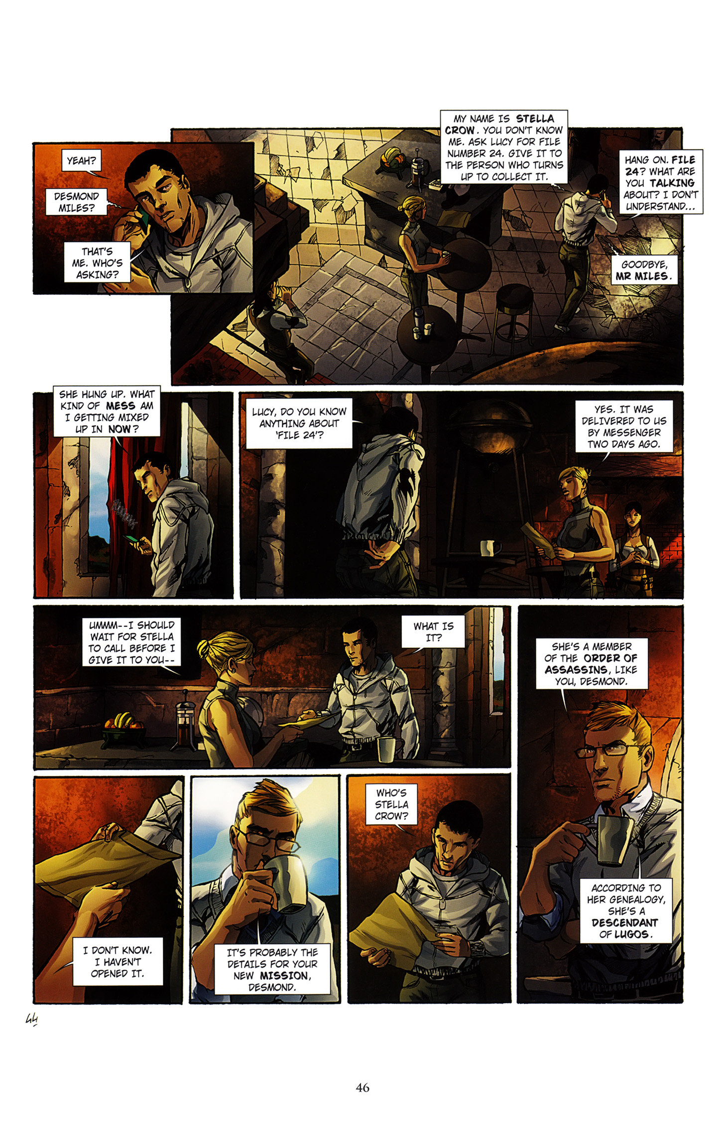 Read online Assassin's Creed (2012) comic -  Issue #3 - 50