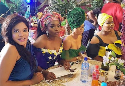 wp 1504207320389 - ENTERTAINMENT: Toke Makinwa Slays In Stunning Photos With Toyin Aimakhu, Bisola and Chigurl
