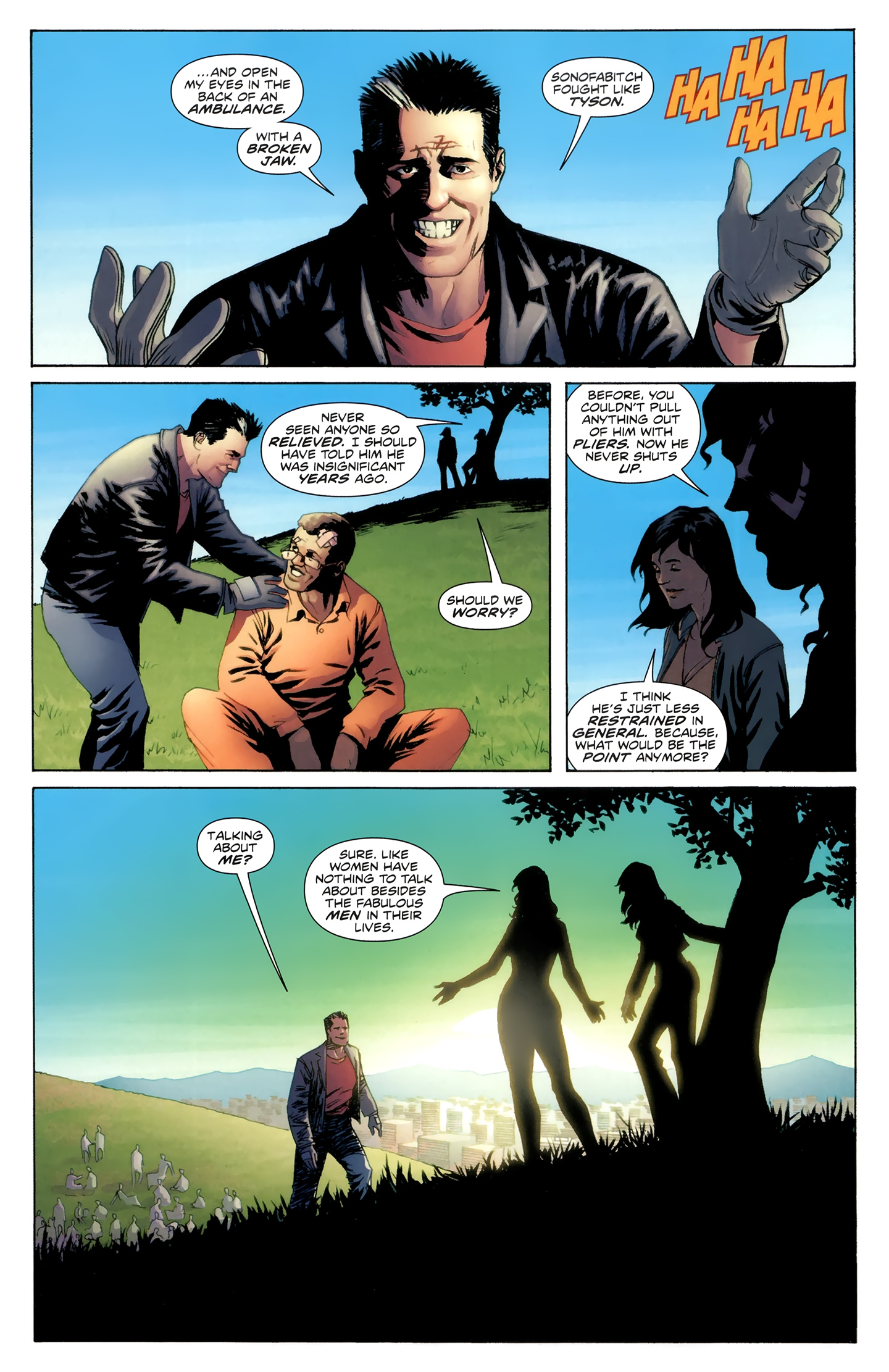 Read online Incorruptible comic -  Issue #30 - 22