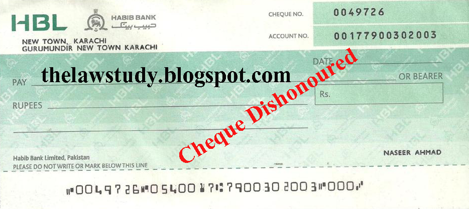how to fill cheque in pakistan mcb