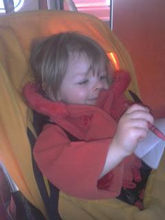 Travelling, colouring, Virgin Trains, London Euston to Preston