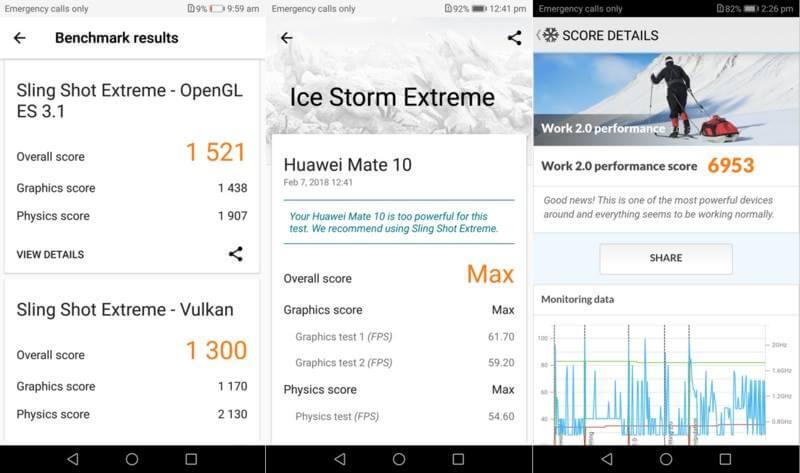 Huawei Mate 10 - Benchmark Scores