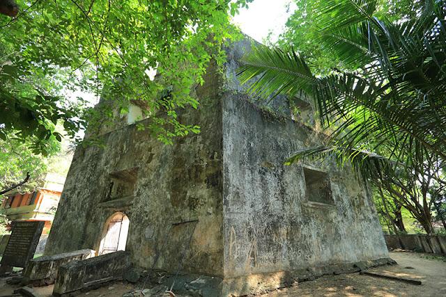 Pallippuram Fort, also known as Ayakotta
