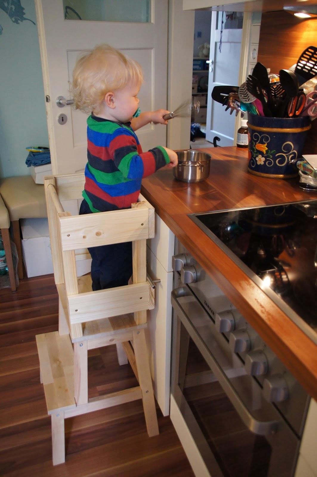 Glücksflügel: Bauanleitung für einen Learning Tower ...
