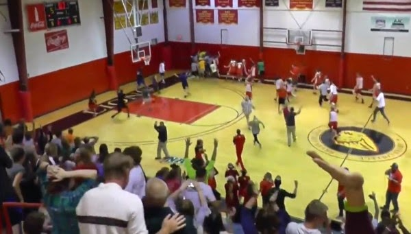 Bryan College soccer player sinks basketball shots, wins $10K