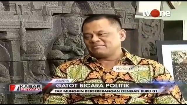Gatot Nurmantyo: Jujur Saya Mengidolakan Prabowo Subianto