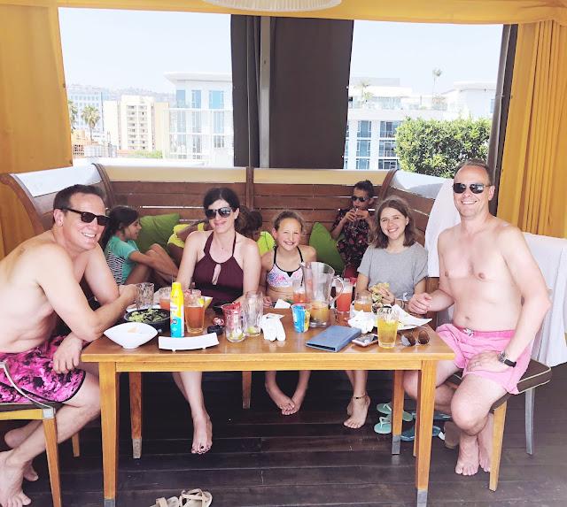 sls pool cabana