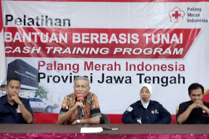 PMI Pacu UU Terbaru Relawan Kuasai Cash Training Program