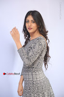Actress Chandini Chowdary Pos in Short Dress at Howrah Bridge Movie Press Meet  0066.JPG