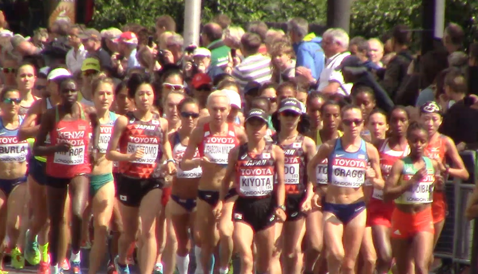 日本と世界のマラソン: 2017世界...