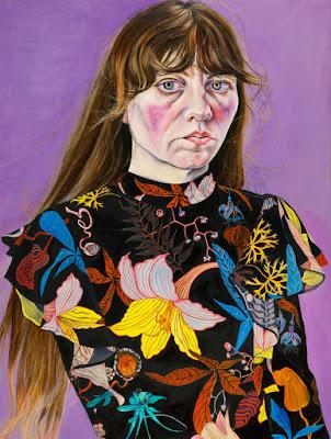 Self-Portrait in a Flower Dress (2016), Ishbel Myerscough