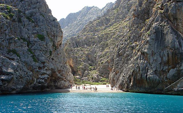 "Otra Playa ""Secreta"" ♦ Playa de Sa Calobra (Mallorca, Islas Baleares) 2"