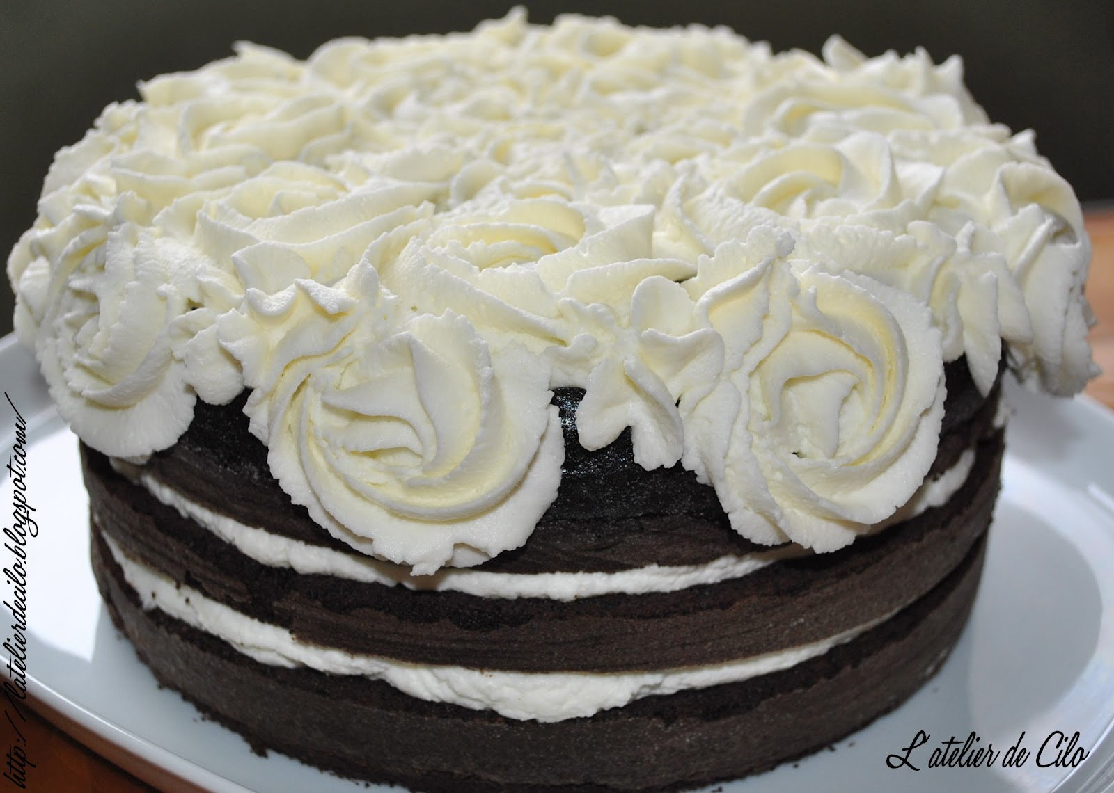 Creme Mascarpone Chocolat Blanc Pour Layer Cake
