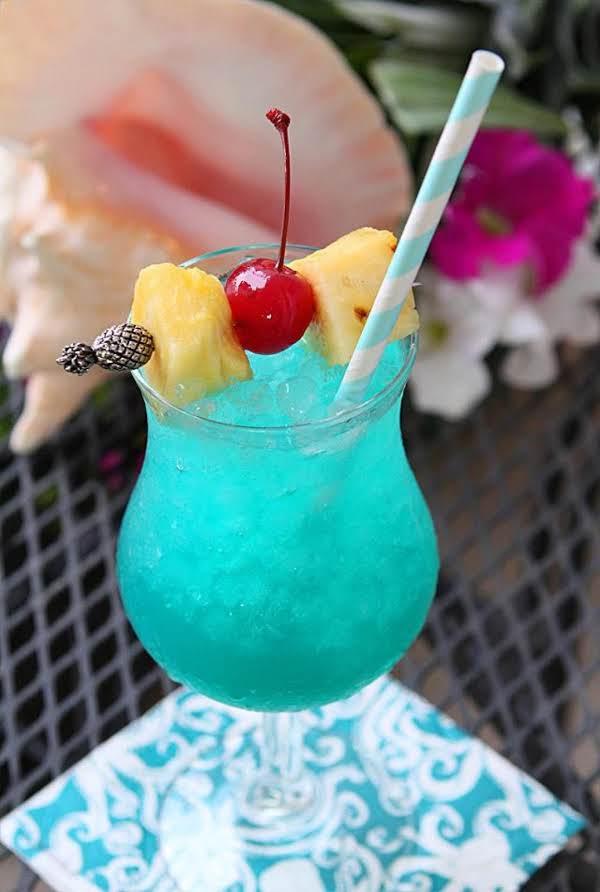 BLUE HAWAIIAN RECIPE #drink #healthy