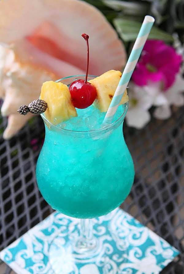 BLUE HAWAIIAN RECIPE #drink #healthy #sangria #recipes #blue