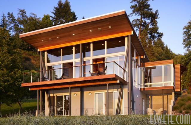 70 Desain Rumah Kayu Minimalis Sederhana Dan Klasik Desainrumahnya Com
