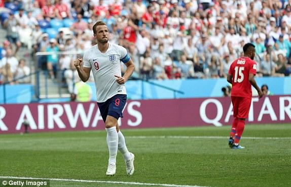 Harry Kane là số 9 hay nhất World Cup 2018
