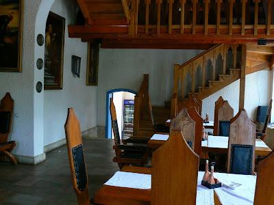 Mancare Romania: restaurant in Biertan