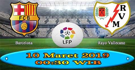 Prediksi Bola855 Barcelona vs Rayo Vallecano 10 Maret 2019
