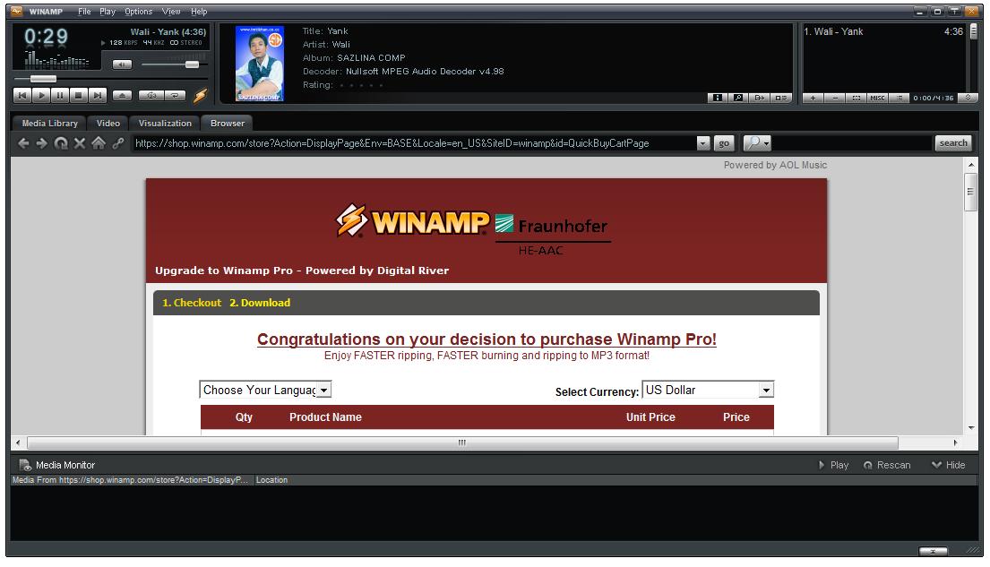 Winamp 5.623