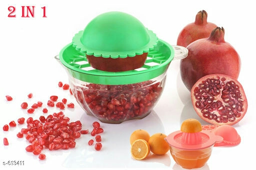 2 in 1 Pomegranate Extractor With Orange Juicer