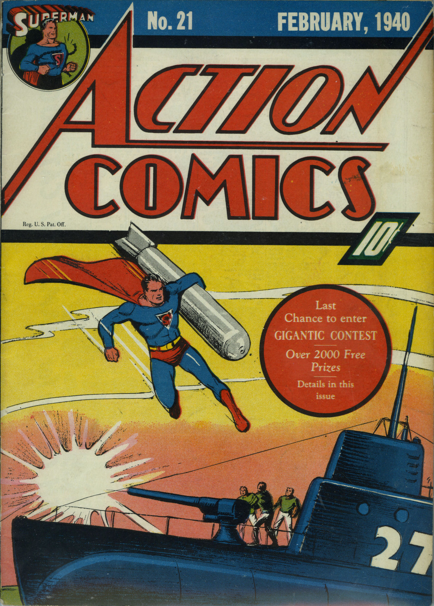 Read online Action Comics (1938) comic -  Issue #21 - 2