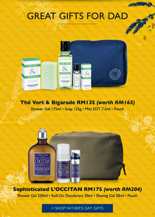 Celestechoo Father S Day Gifts And Deals From L Occitane