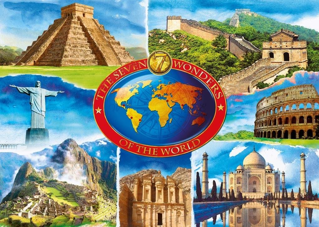 De Zeven Wereldwonderen.Travel Dreams Travel List De Zeven Wereldwonderen