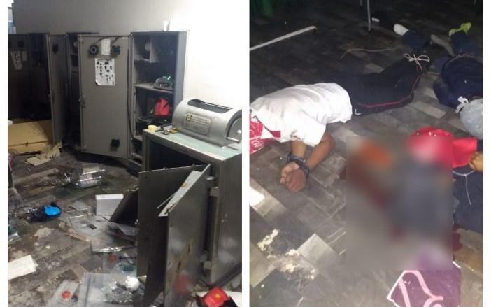 Ladrones no se conformaron con robar CFE en Tabasco, ejecutaron a 2 policías y a un guardia de seguridad